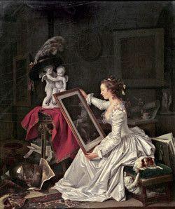 peintre romantique