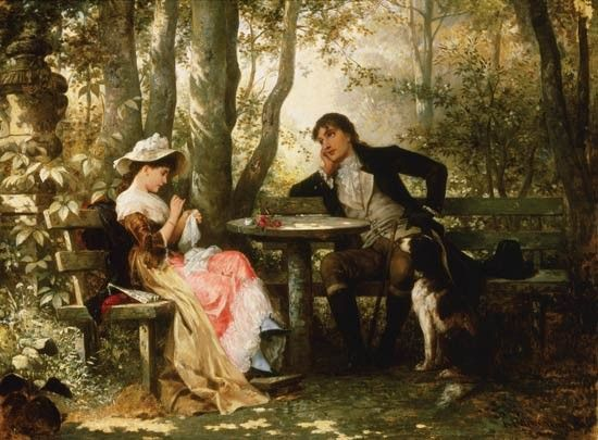 La rencontre amoureuse dans le roman commentaire